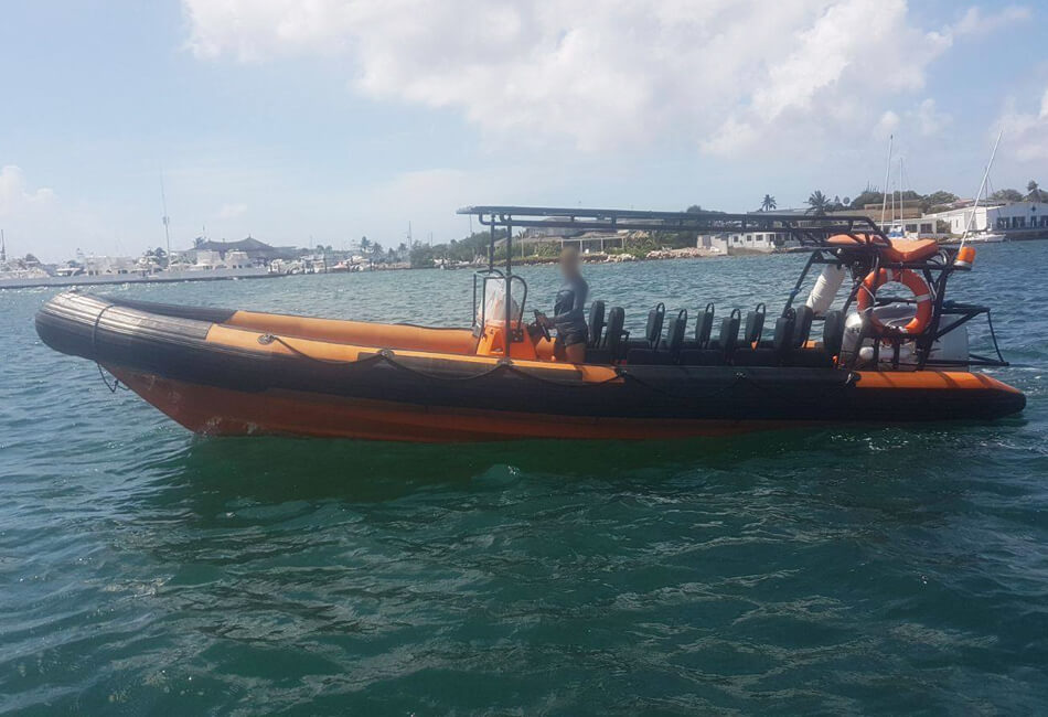 25 Ft RIB Powerboat